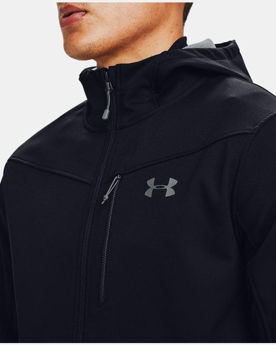 Herren ColdGear® Infrared Shield Jacke mit Kapuze, Black, pdpMainDesktop image number 3