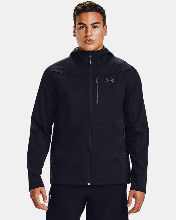 Herren ColdGear® Infrared Shield Jacke mit Kapuze, Black, pdpMainDesktop image number 0