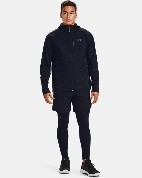Herren ColdGear® Infrared Shield Jacke mit Kapuze, Black, pdpMainDesktop image number 2