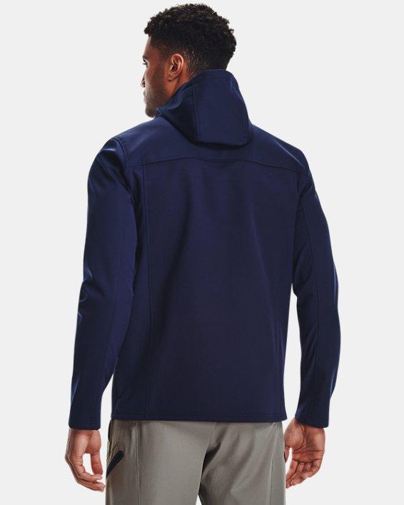 Herren ColdGear® Infrared Shield Jacke mit Kapuze, Blue, pdpMainDesktop image number 1