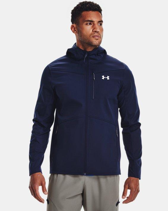 Herren ColdGear® Infrared Shield Jacke mit Kapuze, Blue, pdpMainDesktop image number 0
