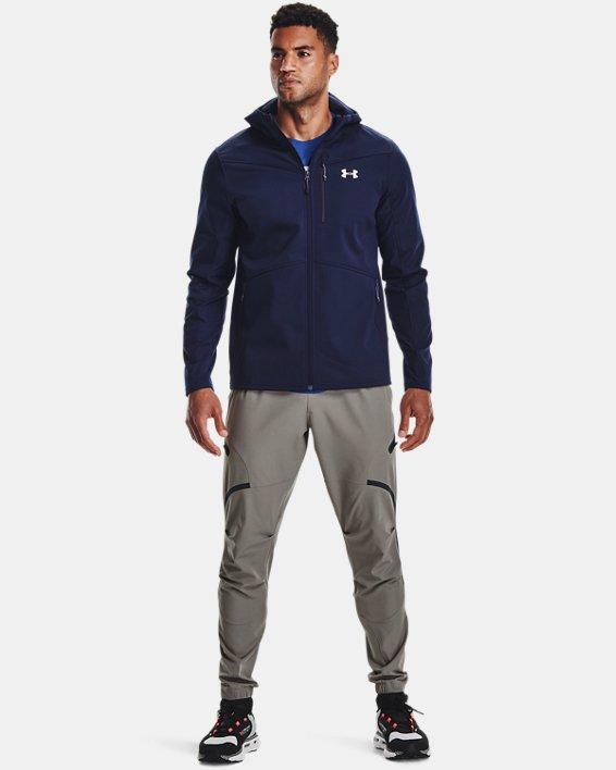 Herren ColdGear® Infrared Shield Jacke mit Kapuze, Blue, pdpMainDesktop image number 2