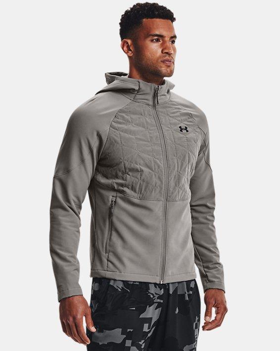 Men's ColdGear® Reactor Hybrid Lite Jacket, Gray, pdpMainDesktop image number 0
