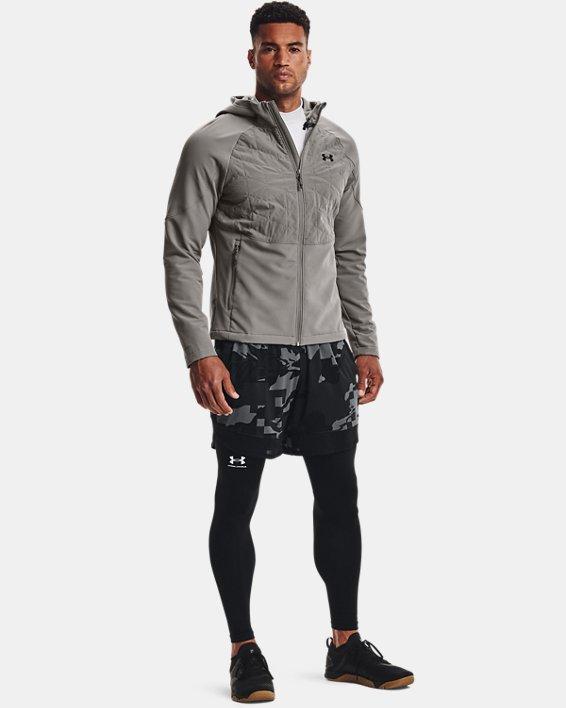 Men's ColdGear® Reactor Hybrid Lite Jacket, Gray, pdpMainDesktop image number 2