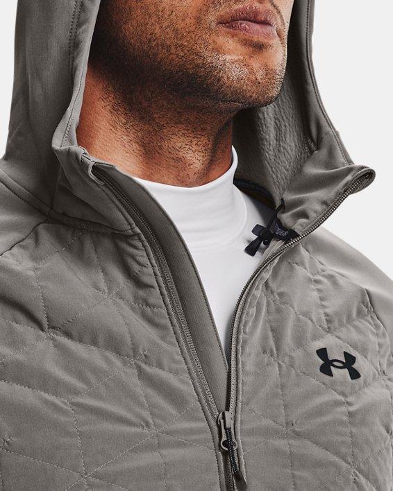 Men's ColdGear® Reactor Hybrid Lite Jacket, Gray, pdpMainDesktop image number 3