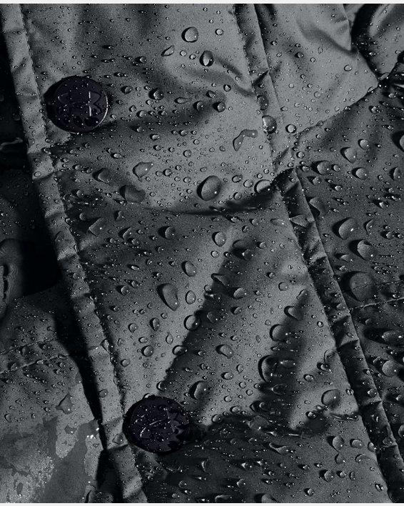 Men's UA Armour Insulated Bench Coat, Gray, pdpMainDesktop image number 6