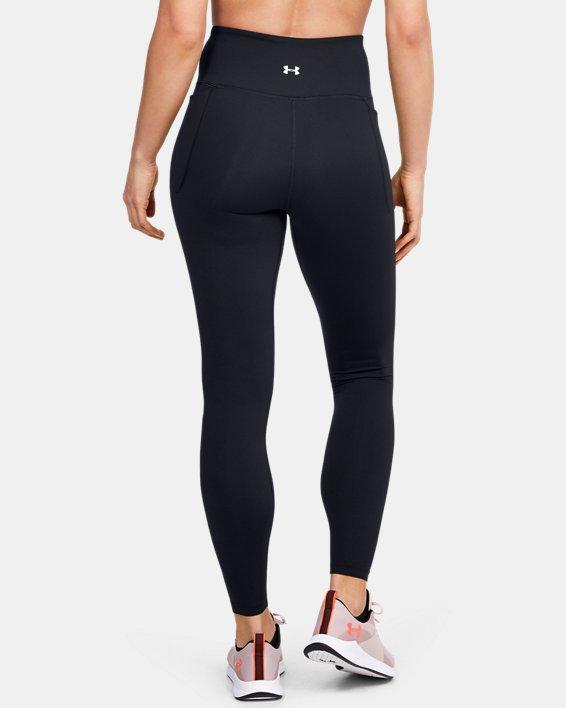 Women's UA Meridian Leggings, Black, pdpMainDesktop image number 2