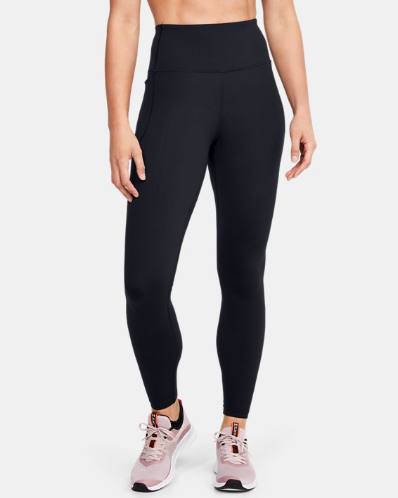 Women's UA Meridian Leggings, Black, pdpMainDesktop image number 0