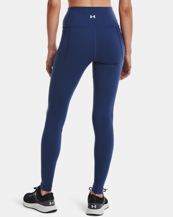 Women's UA Meridian Leggings, Blue, pdpMainDesktop image number 2