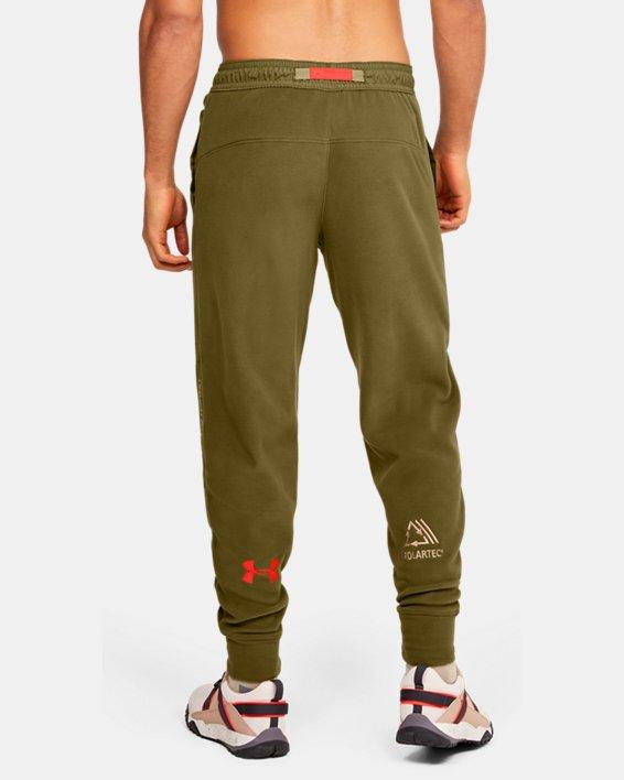 Men's UA Always On Polar Fleece Pants, Green, pdpMainDesktop image number 2