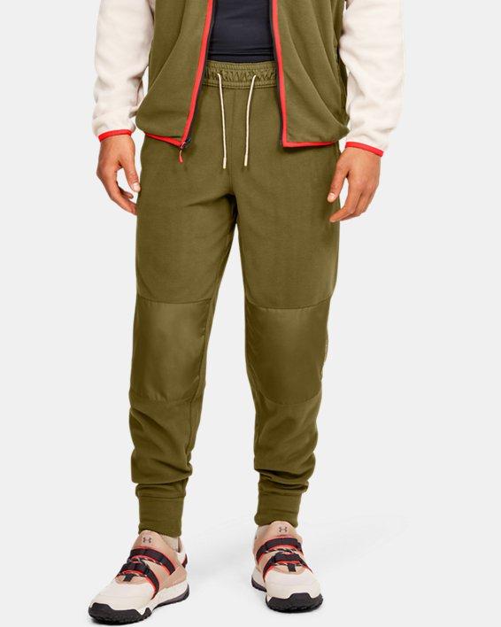 Men's UA Always On Polar Fleece Pants, Green, pdpMainDesktop image number 1