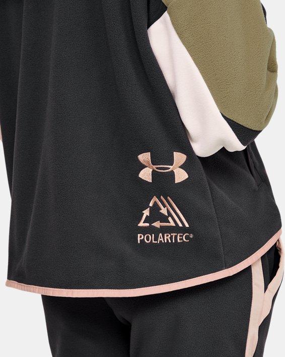 Women's UA Always On Full Zip Polar Fleece Jacket, Gray, pdpMainDesktop image number 5