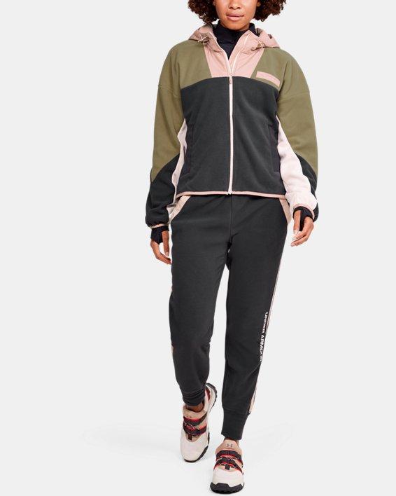 Women's UA Always On Full Zip Polar Fleece Jacket, Gray, pdpMainDesktop image number 1