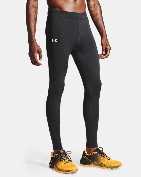 Men's UA Fly Fast HeatGear® Tights, Black, pdpMainDesktop image number 1