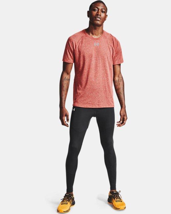 Men's UA Fly Fast HeatGear® Tights, Black, pdpMainDesktop image number 0