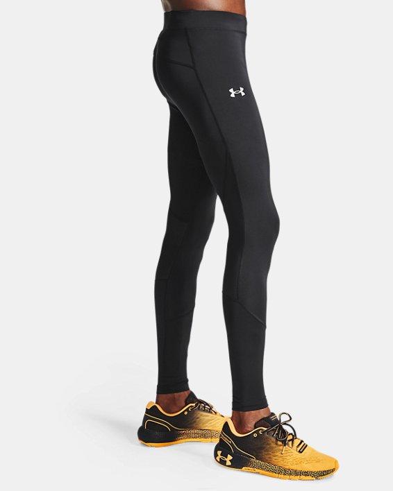 Men's UA Fly Fast HeatGear® Tights, Black, pdpMainDesktop image number 3