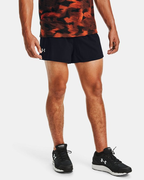 Men's UA Launch SW Split 2.0 Shorts, Black, pdpMainDesktop image number 0