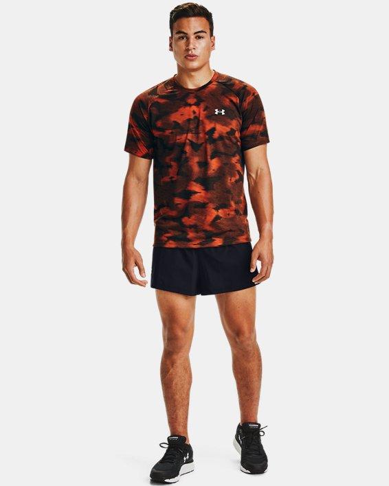 Men's UA Launch SW Split 2.0 Shorts, Black, pdpMainDesktop image number 1