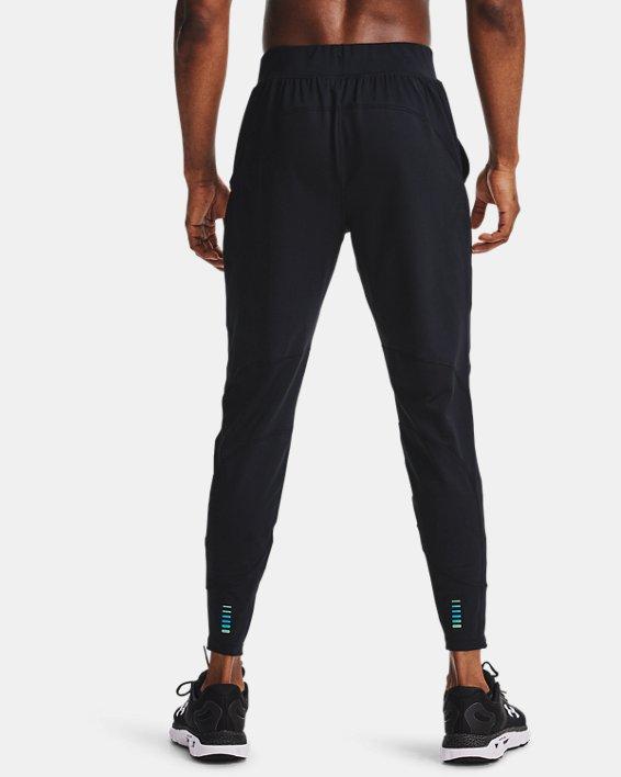 Pantalon de jogging UA RUSH™ Run pour homme, Black, pdpMainDesktop image number 1