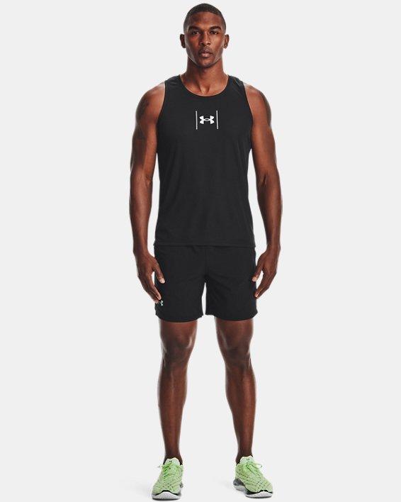Men's UA Speed Stride Shock Singlet, Black, pdpMainDesktop image number 0