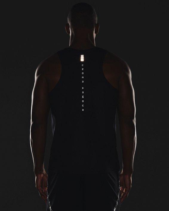 Men's UA Speed Stride Shock Singlet, Black, pdpMainDesktop image number 5