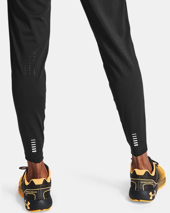 Men's UA Fly Fast HeatGear® Joggers, Black, pdpMainDesktop image number 2