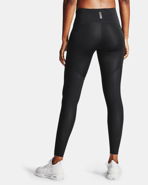 Women's UA Fly Fast 2.0 HeatGear® Tights, Black, pdpMainDesktop image number 2