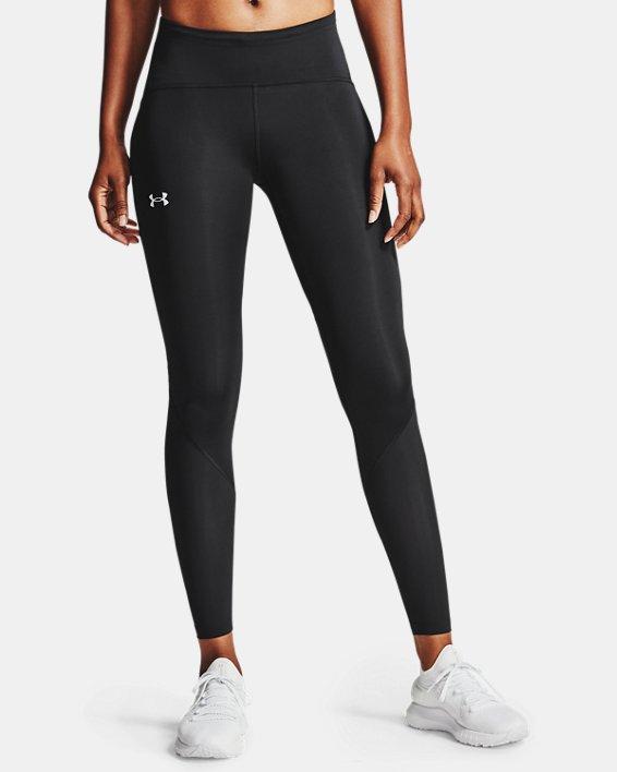 Women's UA Fly Fast 2.0 HeatGear® Tights, Black, pdpMainDesktop image number 1