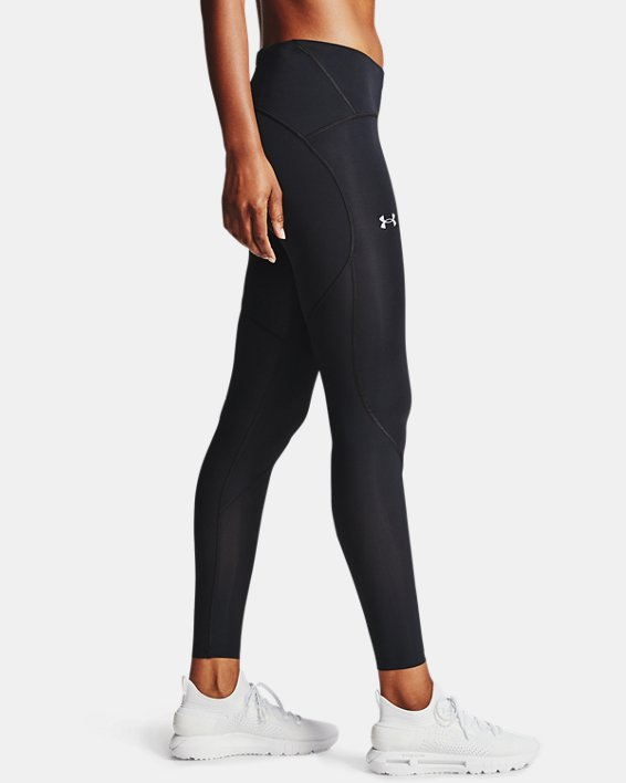 Women's UA Fly Fast 2.0 HeatGear® Tights, Black, pdpMainDesktop image number 3