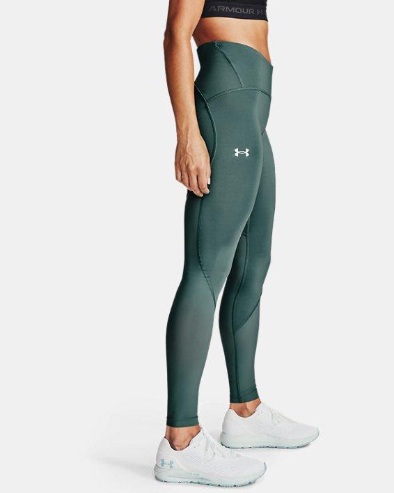 Women's UA Fly Fast 2.0 HeatGear® Tights, Blue, pdpMainDesktop image number 2