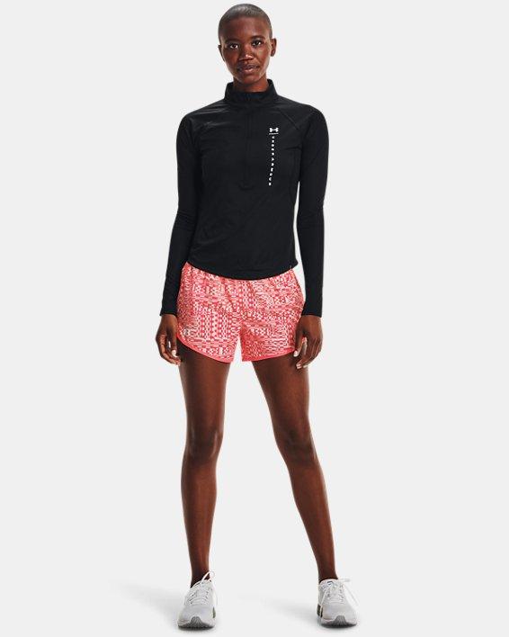 Women's UA Speed Stride Attitude ½ Zip, Black, pdpMainDesktop image number 0