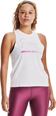 Under Armour Womens Graphic Sport Style Muscle Tank