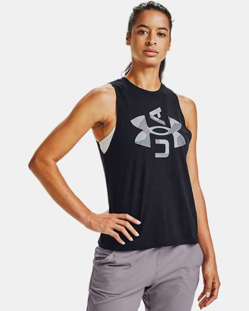 Women's UA Logo Graphic Muscle Tank