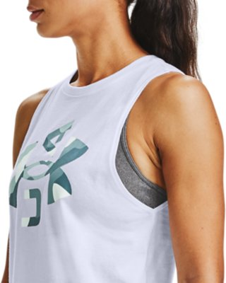 Under Armour Graphic Fashion Wm Logo Tank Donna Maglia