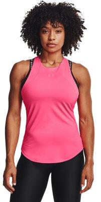 UNDER ARMOUR Débardeur Tank Femmes T-shirt Running Gym Top Blanc//Gris L//XL
