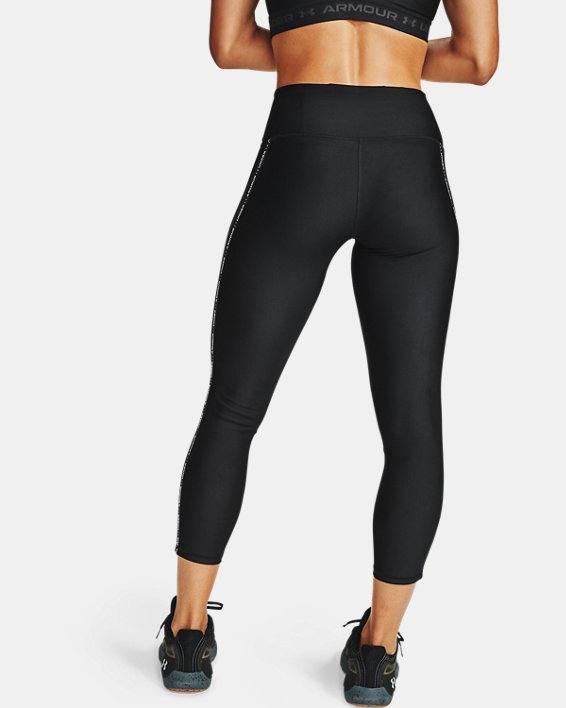 Women's HeatGear® Armour WMT 7/8 Leggings, Black, pdpMainDesktop image number 2