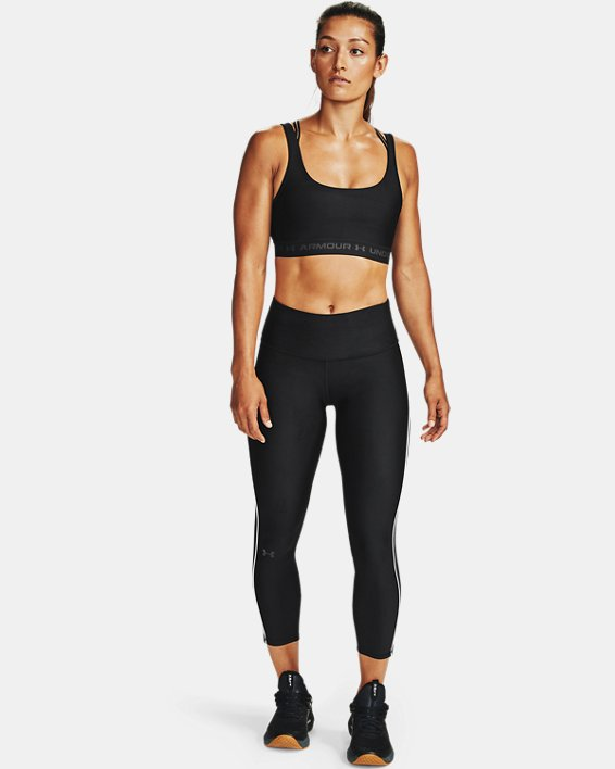 Women's HeatGear® Armour WMT 7/8 Leggings, Black, pdpMainDesktop image number 1