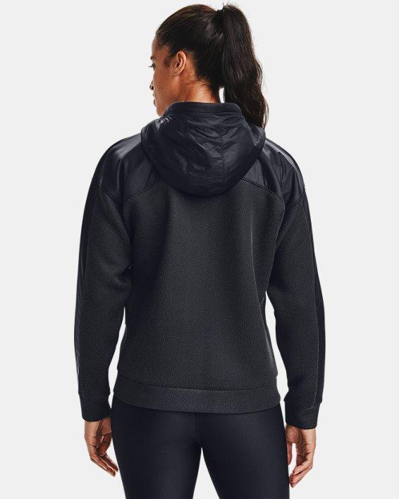 Women's UA /MOVE Full Zip Hoodie, Black, pdpMainDesktop image number 2