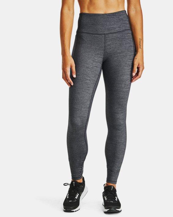 Leggings UA Meridian Heather Full-Length para mujer, Black, pdpMainDesktop image number 0