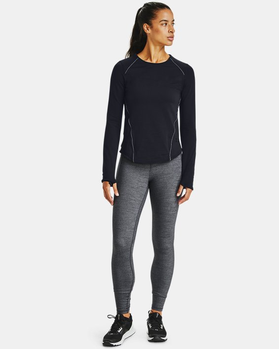 Leggings UA Meridian Heather Full-Length para mujer, Black, pdpMainDesktop image number 1