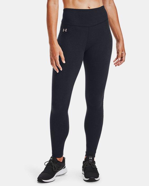 Legging UA Favorite Hi-Rise pour femme, Black, pdpMainDesktop image number 2
