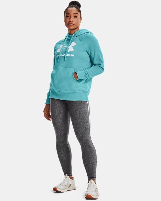 Legging UA Favorite Hi-Rise para mujer, Gray, pdpMainDesktop image number 0
