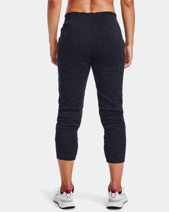 Pantalon de jogging UA Rival Fleece Shine pour femme, Black, pdpMainDesktop image number 2