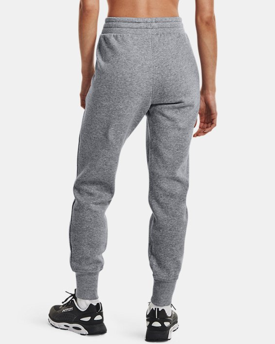 Pantalon de jogging UA Rival Fleece pour femme, Gray, pdpMainDesktop image number 2