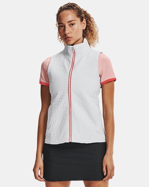 Women's UA Storm Revo Full Zip Vest, Gray, pdpMainDesktop image number 1