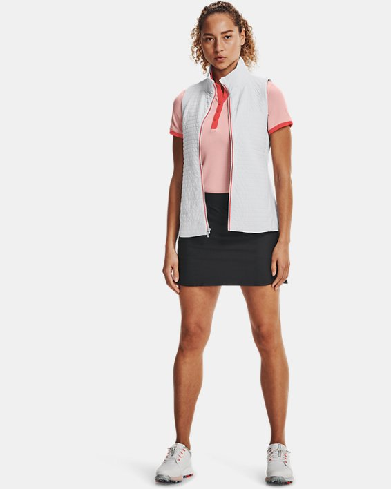 Women's UA Storm Revo Full Zip Vest, Gray, pdpMainDesktop image number 0