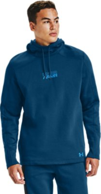 Under Armour Mens Baseline Fleece Pullover Hood