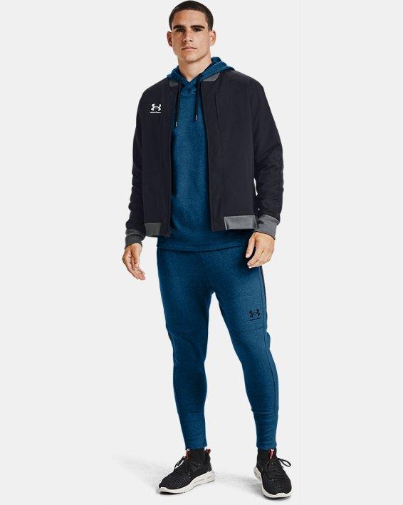 Men's UA Accelerate Bomber Jacket, Black, pdpMainDesktop image number 1