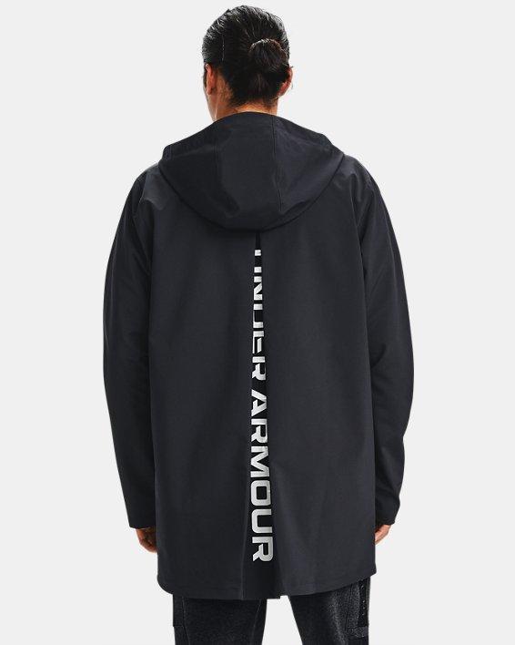Men's UA Accelerate Terrace Jacket, Black, pdpMainDesktop image number 2