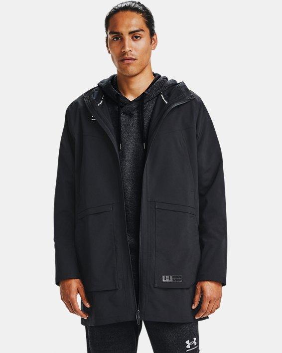 Men's UA Accelerate Terrace Jacket, Black, pdpMainDesktop image number 0
